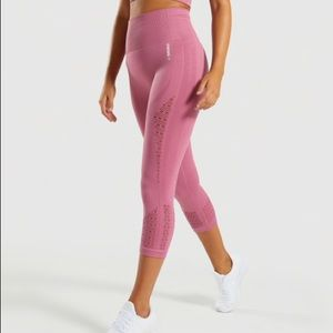 Gymshark Energy+ Seamless Cropped Leggings